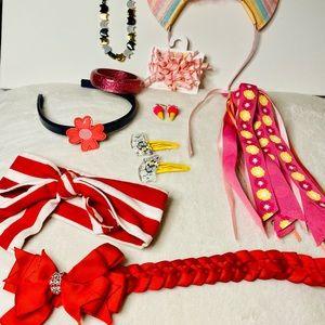 Gymboree accessories & jewelry 11 piece set